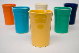 fun fiesta tumblers for sale in Michelles Antiques in  Antique Plaza