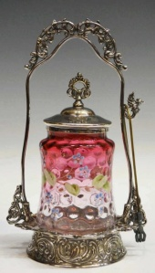 Victorian Era Art Glass has come down in price